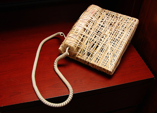 rubber band phone
