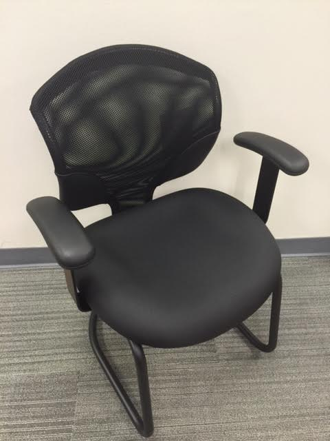 Global Black Tye Side Chair
