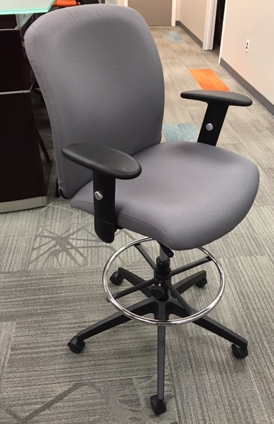 Global Truform Drafting Stool