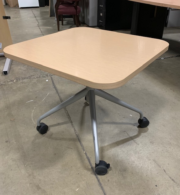 Kimball Adjustable Height Mobile Table