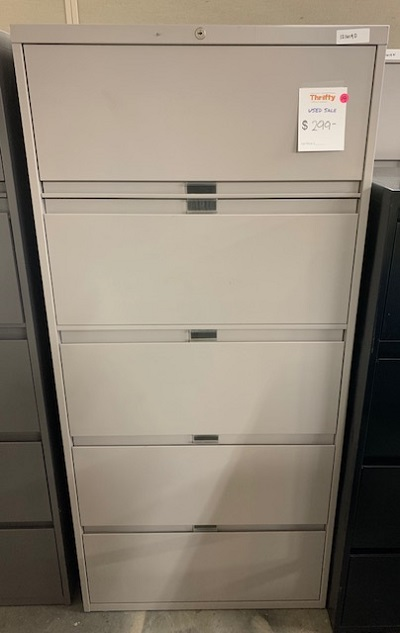 "30"" 5 Drawer Lateral File"