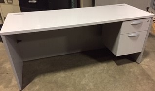 Teknion Single Right Pedestal Box File Desk