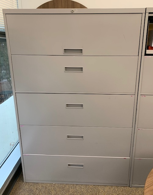 "42"" 5 Drawer Lateral File"