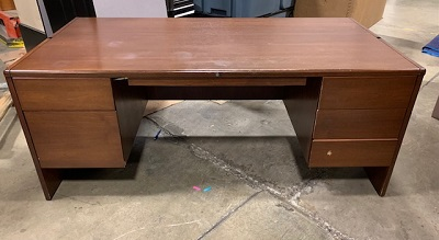 "36"" X 72"" Double Pedestal Desk"