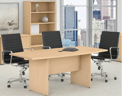 "71"" X 35"" Boat Shape Conference Table"