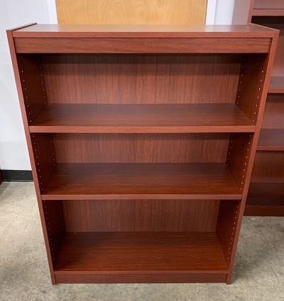 "48"" Norsons Mahogany Essentials Bookcase"