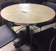 Circle Table with Base
