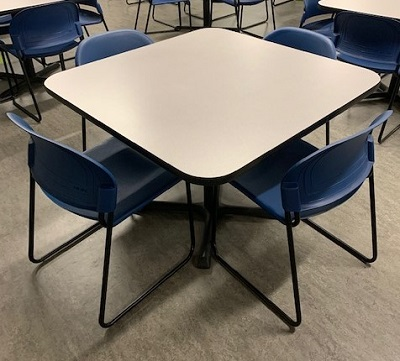 Square Breakroom Table