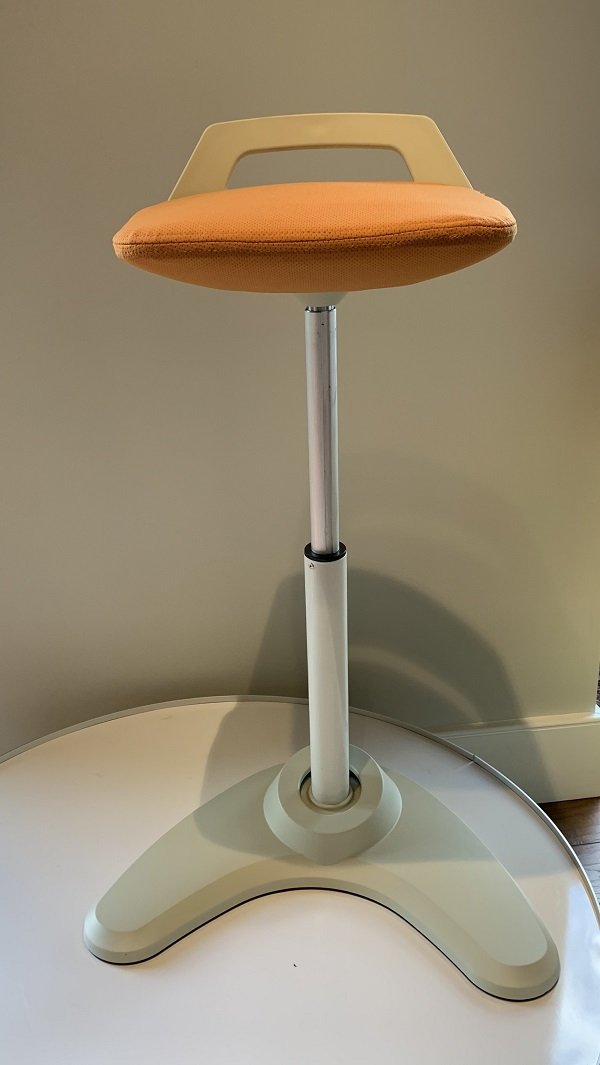 Vivo Height Adjustable Perch Stool-CO