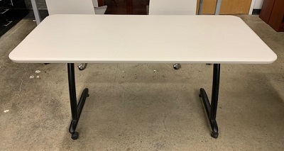"28"" X 58"" Mobile Training Table"