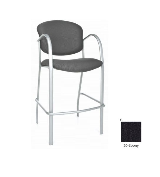 Ebony Danbelle Series Cafe Height Chair