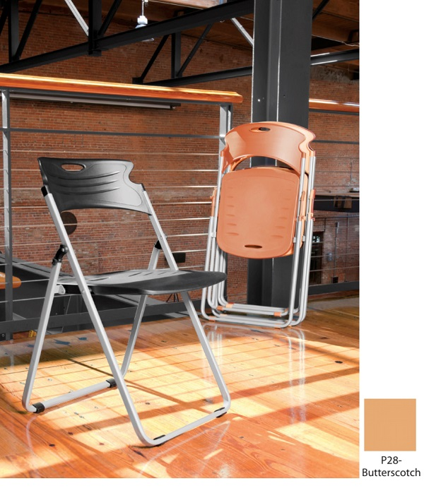 Butterscotch Flexure Folding Chair