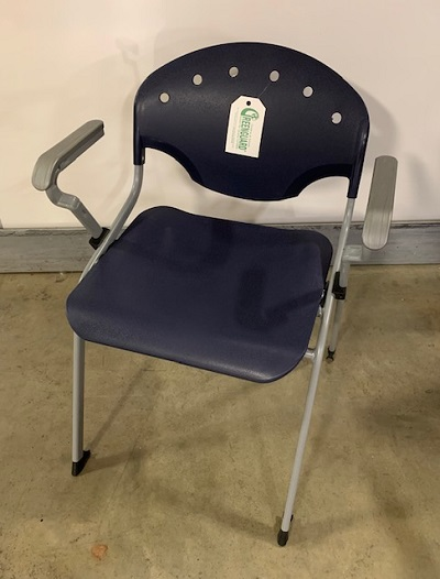 OFM Rico Stack Chair With Arms