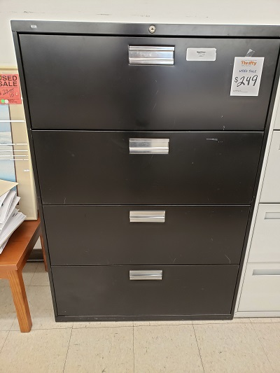 "36"" 4 Drawer Lateral File Cabinet"