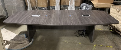 10' Boat Shape Conference Table