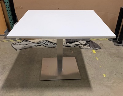 "42"" Standard Height Square Breakroom Table"