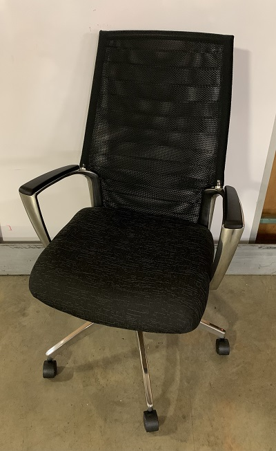 Global Accord Black Coal Office Chair