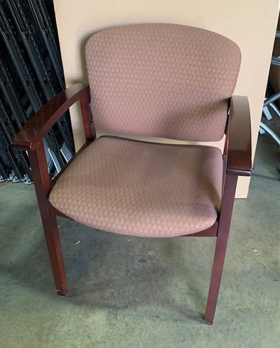 HON Taupe Side Chair