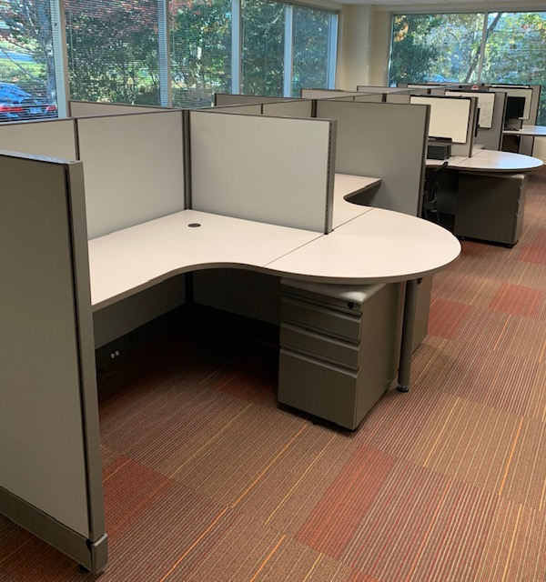 Open Plan Workstation