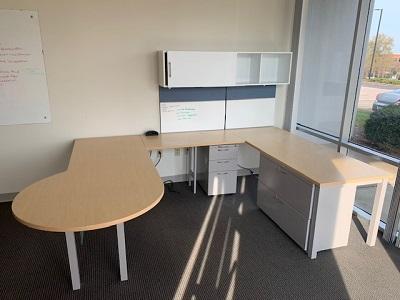 Ais U Shape Desk Uf99x Thrifty Office Furniture