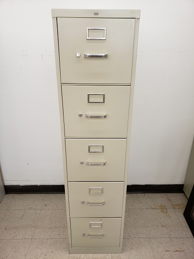 5 Drawer Vertical Putty File