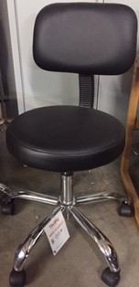 Medical Stool with Back