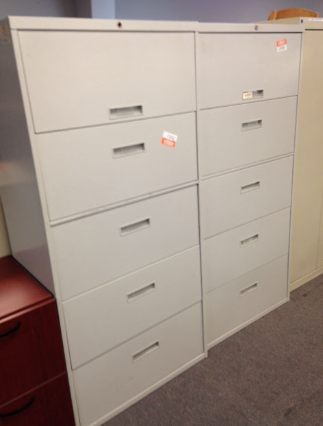 5 Drawer Lateral Files