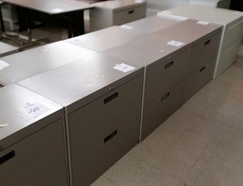Misc. 2-Drawer Lateral Files