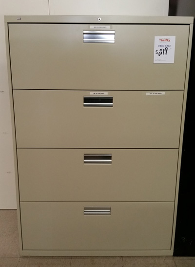 HON 4 Drawer Lateral File