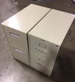 2 Drawer Assorted Vertical File Cabinets