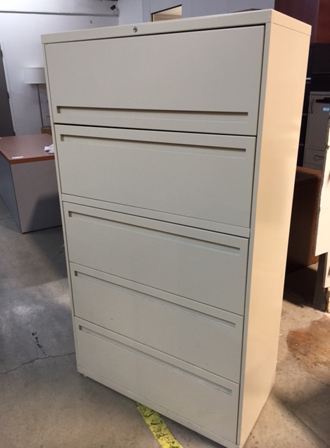 HON 5 Drawer Lateral File