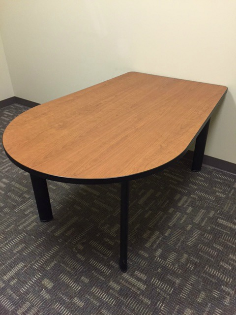 D Shape Huddle Room Meeting Table (020317J) | Thrifty ...