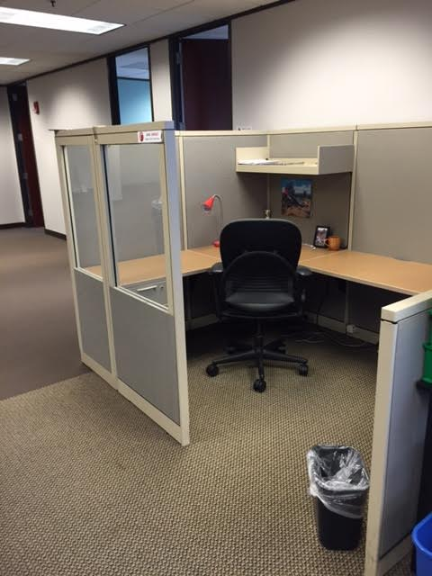 6x8 Steelcase Cubicles Uf99x Thrifty Office Furniture