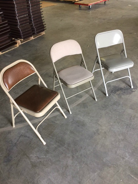 Folding Padded Chairs Meachair Thrifty Office Furniture