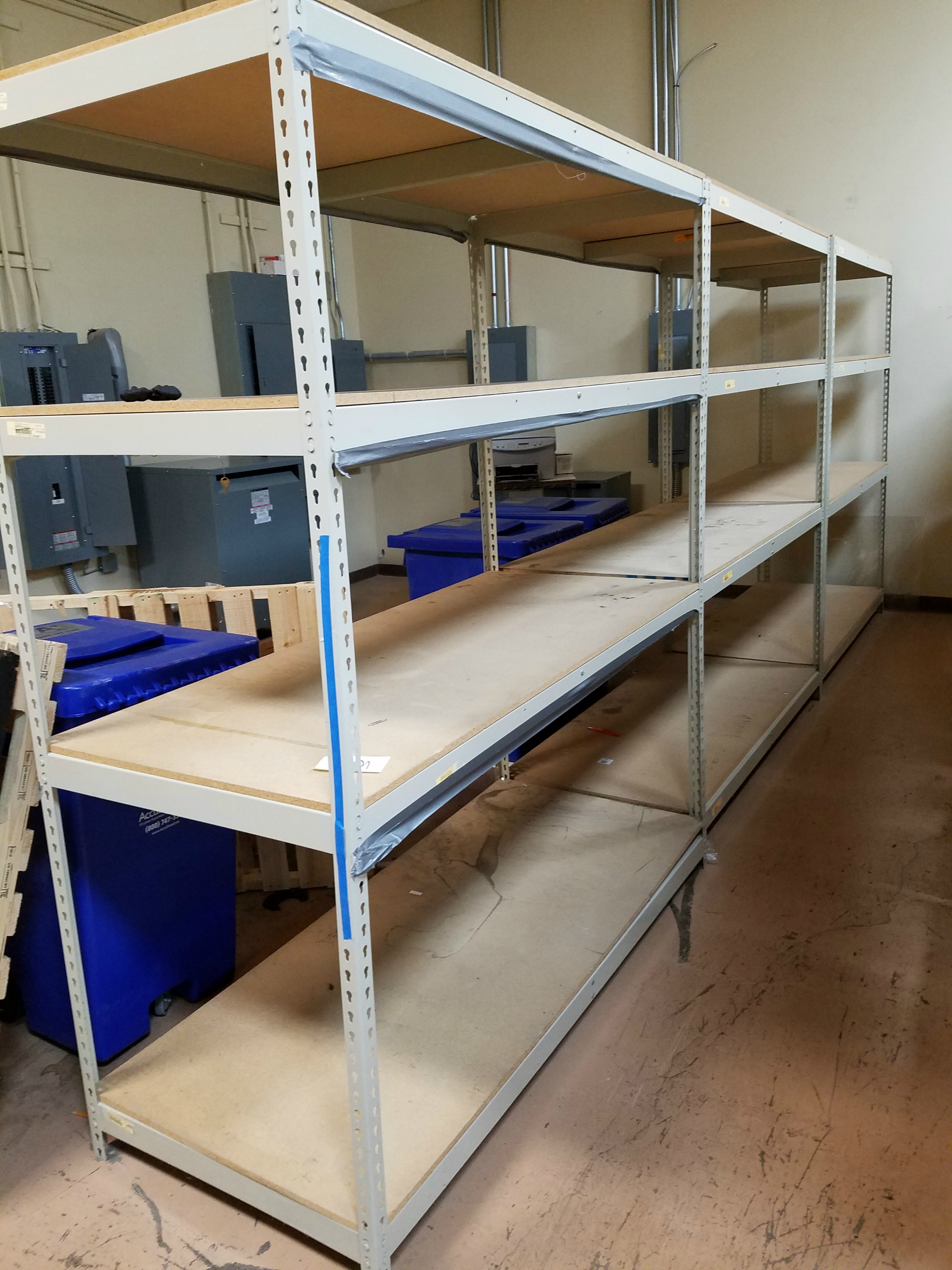 Industrial Metal Shelving Units 30 x 72