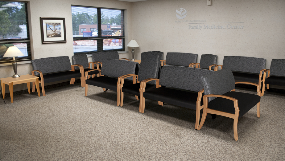 High Point Unos Reception Seating