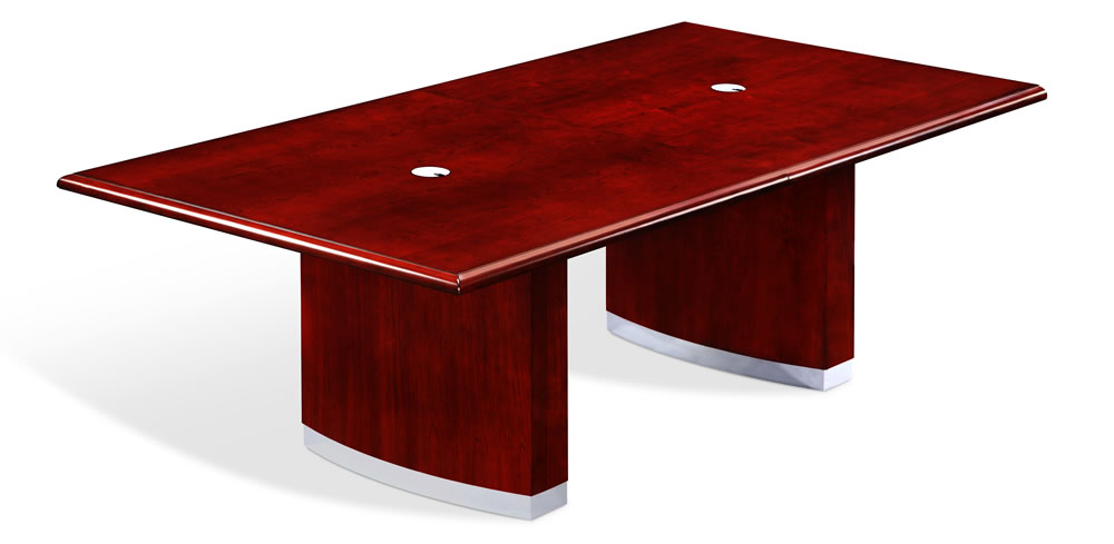 DMI Summit 8' Cherry Veneer Conference Table