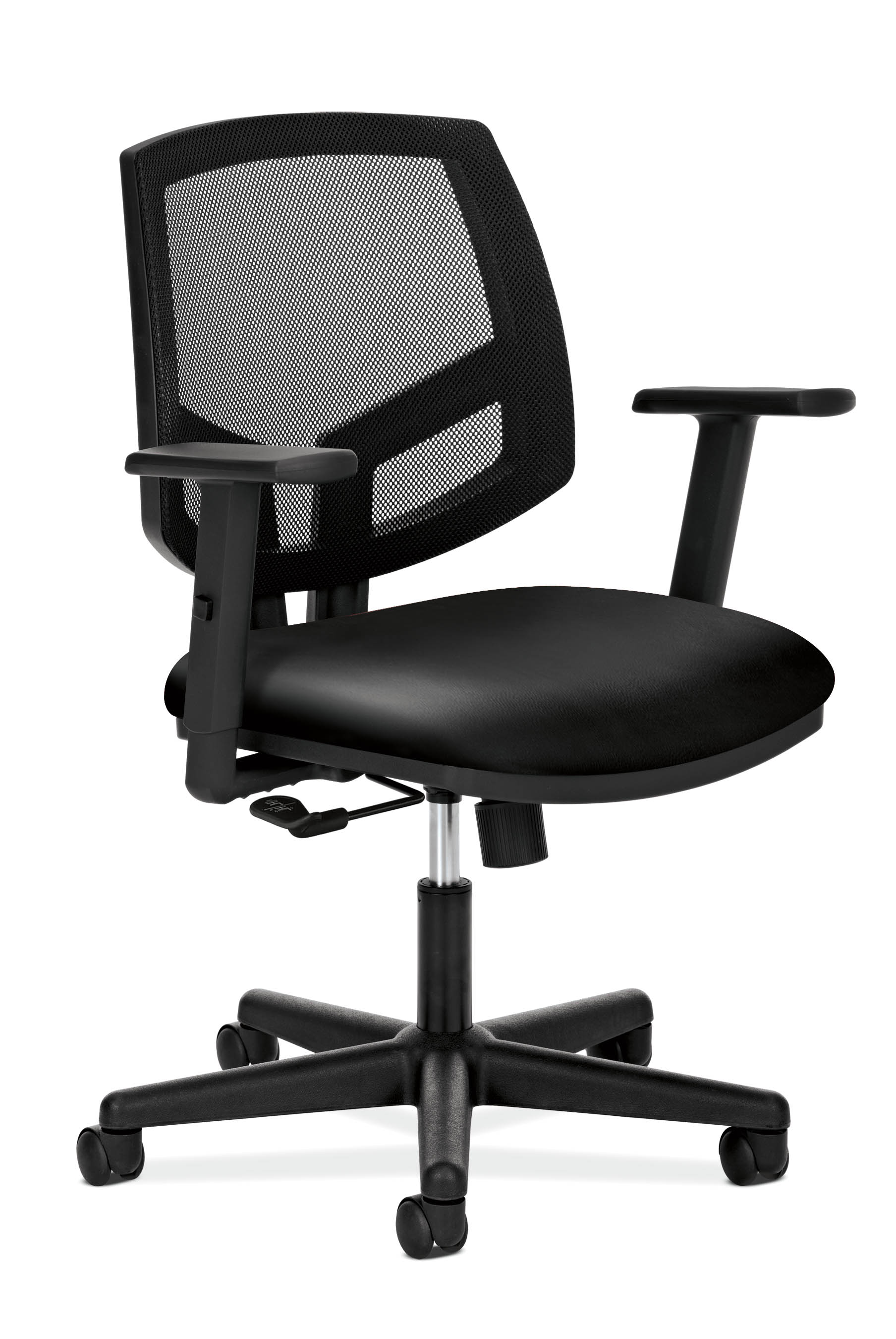 HON Volt Black Leather Task Chair H5711 SB11 T