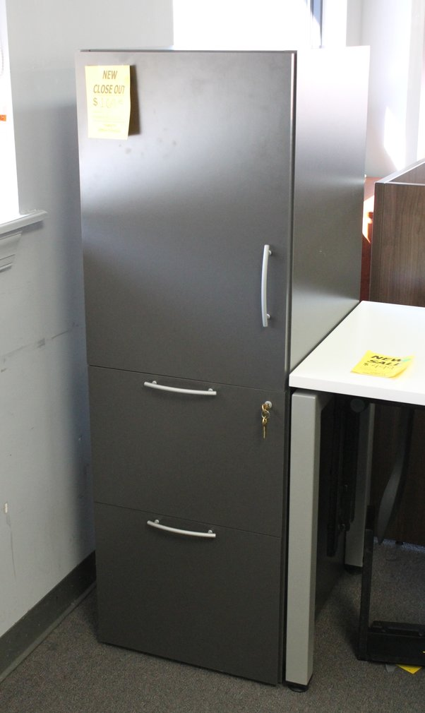 Gray Paoli Storage/File Cabinet